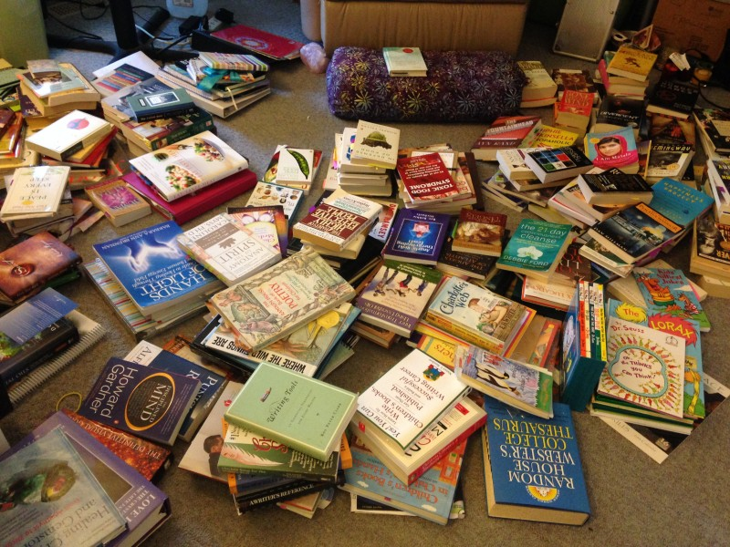The Books? Not the Books! (Tidying 2)